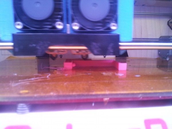 printing the part in magenta.